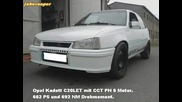 662 коня Opel Kadett E C20let
