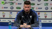Giroud Confident in French Team Ahead of Germany Match