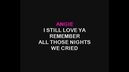 Rolling Stones - Angie karaoke