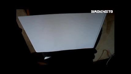 Рисуване на око - начинът на dimchenceto