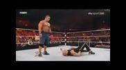 John Cena Aa to The Rock