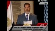 Новият египетски президент призова за единство и мир