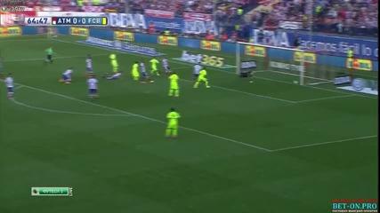Барса шампион! 17.05.2015 Атлетико Мадрид - Барселона 0:1