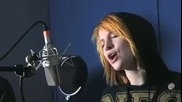 Paramore The Only Exception acoustic live hq