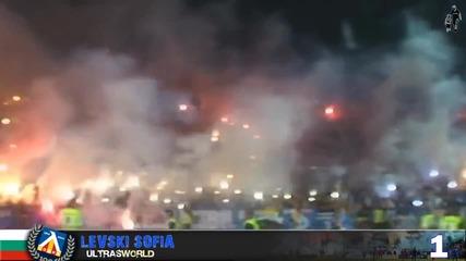 Левски попадна В Топ 5 на Ultras World