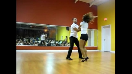 Tanja and Jorge - Bachata