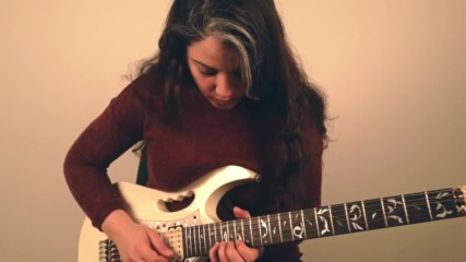 Aerion - Into The night Guitar cover by Shani Kimelman