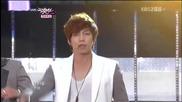 (hd) U-kiss - Believe (comeback stage) ~ Music Bank (08.06.2012)