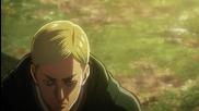 Attack on Titan - Сезон 1 Епизод 22 English Dubbed 2013 (английско аудио
