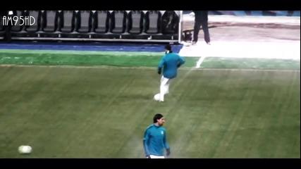 Cristiano Ronaldo - Freestyle Show - Real Madrid 2012 Hd