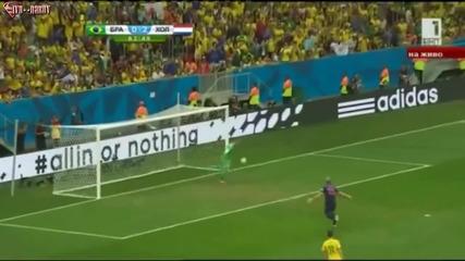 Мондиал 2014 - Бразилия 0:3 Холандия - Бразилия отново унизена в сълзи! Лалетата грабнаха бронза!