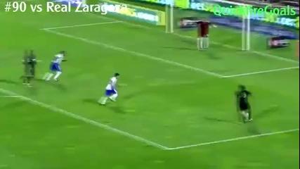 Първите 100 гола на Кристиано Роналдо за Реал Мадрид !