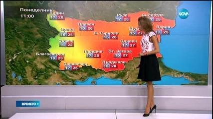 Прогноза за времето (21.09.2015 - обедна)