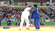 Ивайло Иванов остава в битката за бронза по джудо в Рио