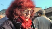 Italian: 'No TAV' protesters scuffle with police outside Turin court