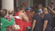 Посрещнаха Роналдо, Пепе и Коентрао като звезди в Португалия