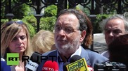 Greece: 'We are at war against austerity', says Popular Unity leader Lafazanis