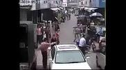 Улично Правосьдие По Улиците На Китаиския Квартал