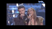 Beyonce & Justin Timberlake - Aint Nothing Like The Real Thing (Live at Fashion Rocks 2008) (ВИСОКО КАЧЕСТВО)