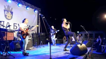 Джулай морнинг 2020 в Бургас с група STIFF BONES. Aka: Когато барабанистът излезе отпред!
