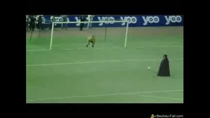 Darth Vader Penalty Kick