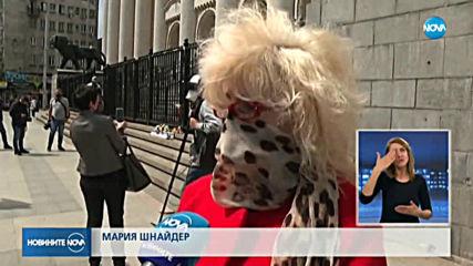 Бдения в памет на Милен Цветков в няколко града