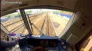 Ето с какви локомотиви и скорост се движат влаковете в руските железници