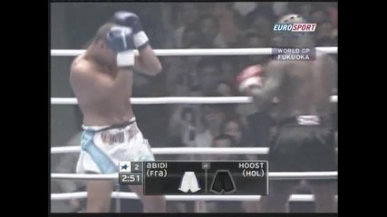 Ernesto Hoost vs Cyril Abidi