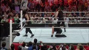 Seth Rollins vs. Batista Raw, May 19, 2014