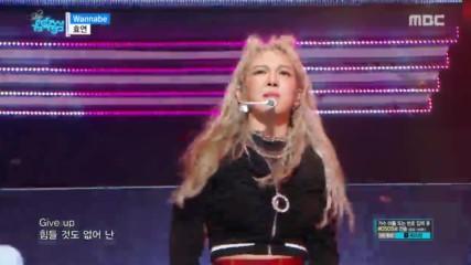 170610 Hyoyeon - Wannabe @ Music Core