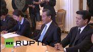 Russia: Lavrov and Wang Yi talk Chinese V-Day and BRICS summit preparations