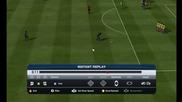 Fifa 13 freekick Роналдиньо