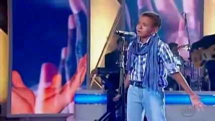 Бразилия търси талант 2011 - Е това момче ме раби,уникален глас!