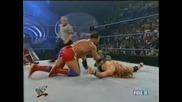 W W F Smackdown.04.26.2001 Крис Беноа и Крис Джерико с/у Уилям Ригал и Кърт Енгъл