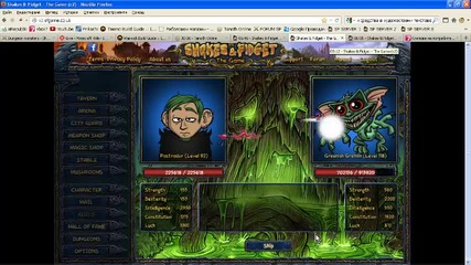 Shakes & Fidget Dungeon 6 Room 5 Greenish Gremlin