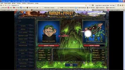 Shakes & Fidget Dungeon 6 Room 5 Greenish Gremlin