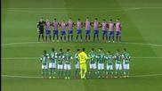 Футболистите на Бетис почитат Трифон Иванов !!