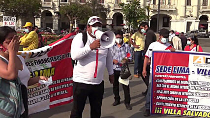 Peru: Protesters demand government allows full withdrawal of pension contributions