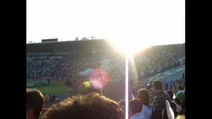 България - Ирландия 06.09.2009 (мексиканска вълна,  българи - юнаци)