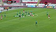 Акцентите при победата на ЦСКА над Берое