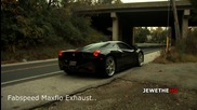 Screaming Ferrari 458 Italia w_ Maxflo Exhaust Package! Revs & Accelerations!