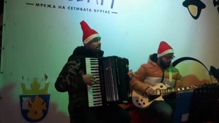 Коледен БулевАрт в Бургас - 2020 г.