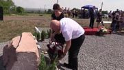 Ukraine: Tributes pour in at MH17 crash site on tragedy's anniversary