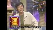 Истинския Глас на Пикачу!!!! Смях