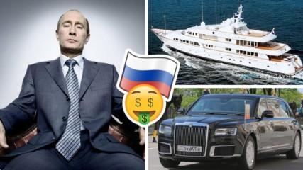 Колко харчи Путин за глезотии - даде 140 000 за ново бижу