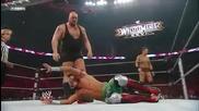 Wwe Ecw - The Miz and Big Show vs Yoshi Tatsu and Goldust [ last Ecw Episode ]