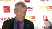 Sir Ian McKellen Gets The Hero Award From The Trevor Project