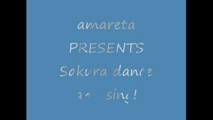 Sakura dance and sing