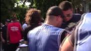"""Опашки от фенове на входовете на фестивала """"Спирит ъф Бургас"""""""