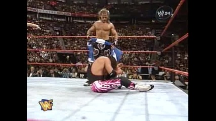 W W F Survivor Series 1997 - Bret Hart vs Shawn Michaels - 3